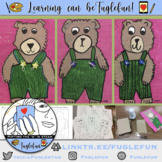 Step-by-Step Teddy Bear Painting inspired by Corduroy