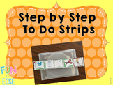 Step by Step To Do Visual Strips