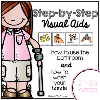 Step-by-Step Visual Aids for Using the Bathroom and Washin
