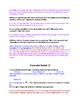 Freshman Level Walk-through for Commentary (CDCM) Writing