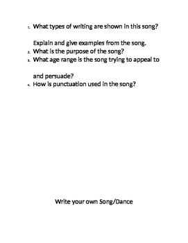 Step by Step Writing: The Cupid Shuffle