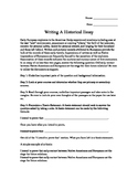 Step by Step - Writing an Historical Essay
