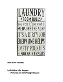 Step by Step laundry handout