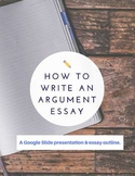 Step-by-step Argument Writing Google Slide presentation &