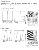 Step by step Pick-a-Op-Art