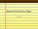 Step-by-step formatting your paper for MLA