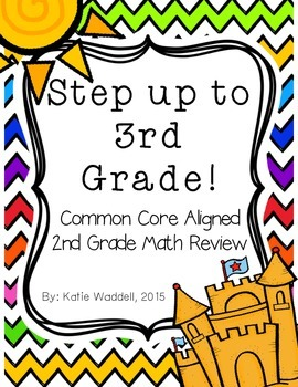 Step up to 3rd Grade: MATH {2nd Grade Common Core Math Review}