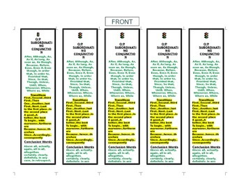 Step up to Writing & 6+1 Traits Writing Bookmark