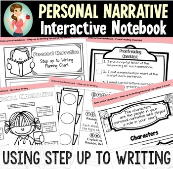 A Step up to Writing Interactive Notebook BUNDLE- Personal Narrative and Opinion
