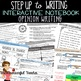 Step up to Writing Inspired Interactive Notebook BUNDLE Opinion & Narrative