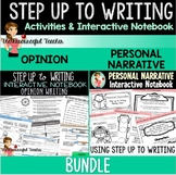 Step up to Writing Inspired Interactive Notebook BUNDLE Op