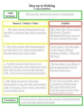 Step up to Writing Inspired Unit - Opinion Writing