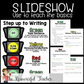 Step up to Writing Resources