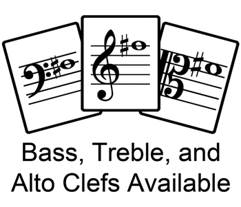 StepWise Orchestra (Violin, Viola, Cello & Bass) Free Flash Cards