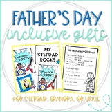 Stepdad, Grandpa, & Uncle Gift for Father's Day: Rock Star Book & Picture Frame