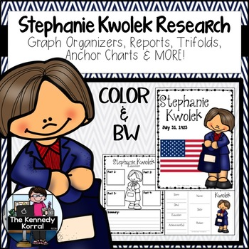 Stephanie Kwolek: Biography Research Bundle {Report, Trifold, & MORE!}