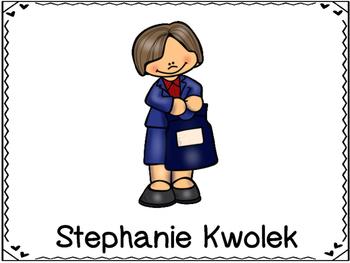 Stephanie Kwolek  Inventor (Bullet Proof Vest)