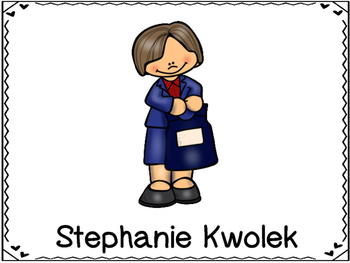 Stephanie Kwolek  Inventor (Bullet Proof Vest)
