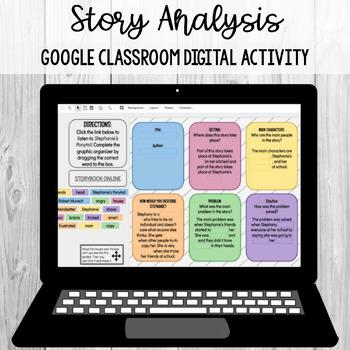 Storybook Analysis: Google Classroom Digital Activity [SOL 4.5b]