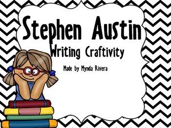 Stephen Austin Writing Craftivity