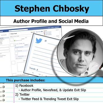 Stephen Chbosky - Author Study - Profile and Social Media