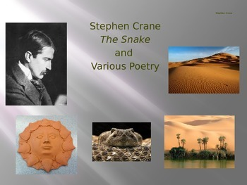 Stephen Crane: Essential Journal Questions