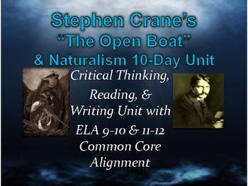 The Open Boat Naturalism The Open Boat Cranes View Of Naturalism  Open Boat Naturalism Essay Example
