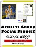Stephen Curry Basketball Shooter - Social Studies Unit
