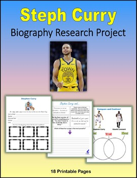 Steph Curry - Biography Research Project