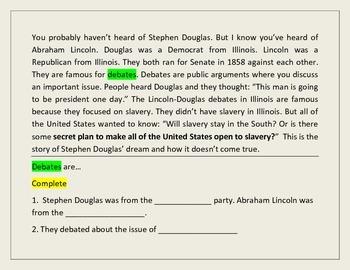 Stephen Douglas's Dream and the Kansas-Nebraska Act