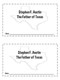 Stephen F. Austin Book and Craftivity-Texas History
