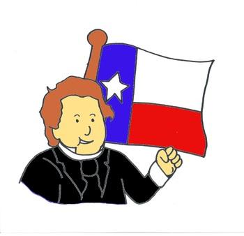 "Stephen F Austin ""El Padre de Texas"" Spanish Coloring booklet"