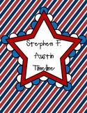 Stephen F. Austin Timeline
