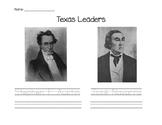 Stephen F. Austin and José Navarro Trace & Write