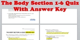 Stephen King's The Body Short Quiz Section 1-6