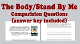 Stephen King's The Body and Stand By Me Movie Questions