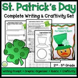 St. Patrick's Day Writing and Craftivity Set