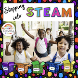 Stepping Into STEAM Posters and Activities for introducing
