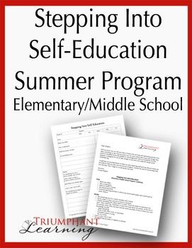 Stepping Into Self-Education Summer Program Elementary/Mid