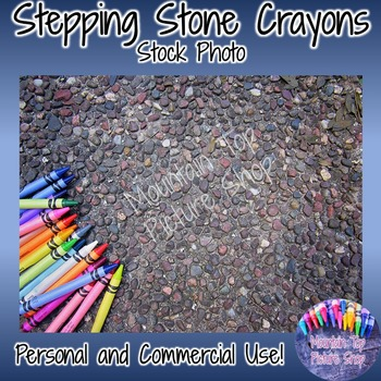 Stepping Stone Crayons (Stock Photo)