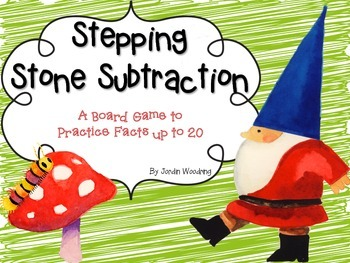 Stepping Stone Subtraction Game