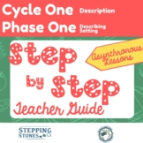 Stepping Stones Curriculum Cycle 1 Phase 1 Step By Step AS