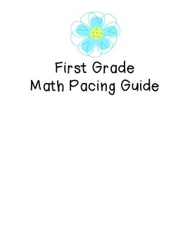 Stepping Stones Grade 1 Math Pacing Guide