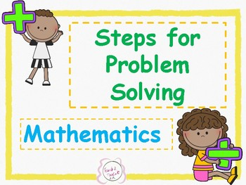 Steps For Solving Math Word Problems