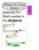 Long Divison-Steps Long Divison-Long Division Help-Divison