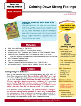 Steps and Stones – Calming Down Strong Feelings - No Prep Lesson & Activities