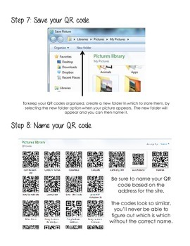 Steps for Creating a QR Code