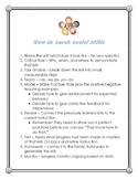 Steps for How to Teach Social Skills