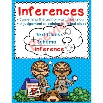 Steps for Making an Inference