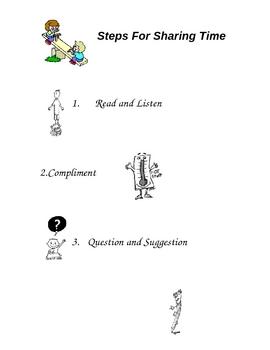 Steps for Peer Conferencing rule sheet